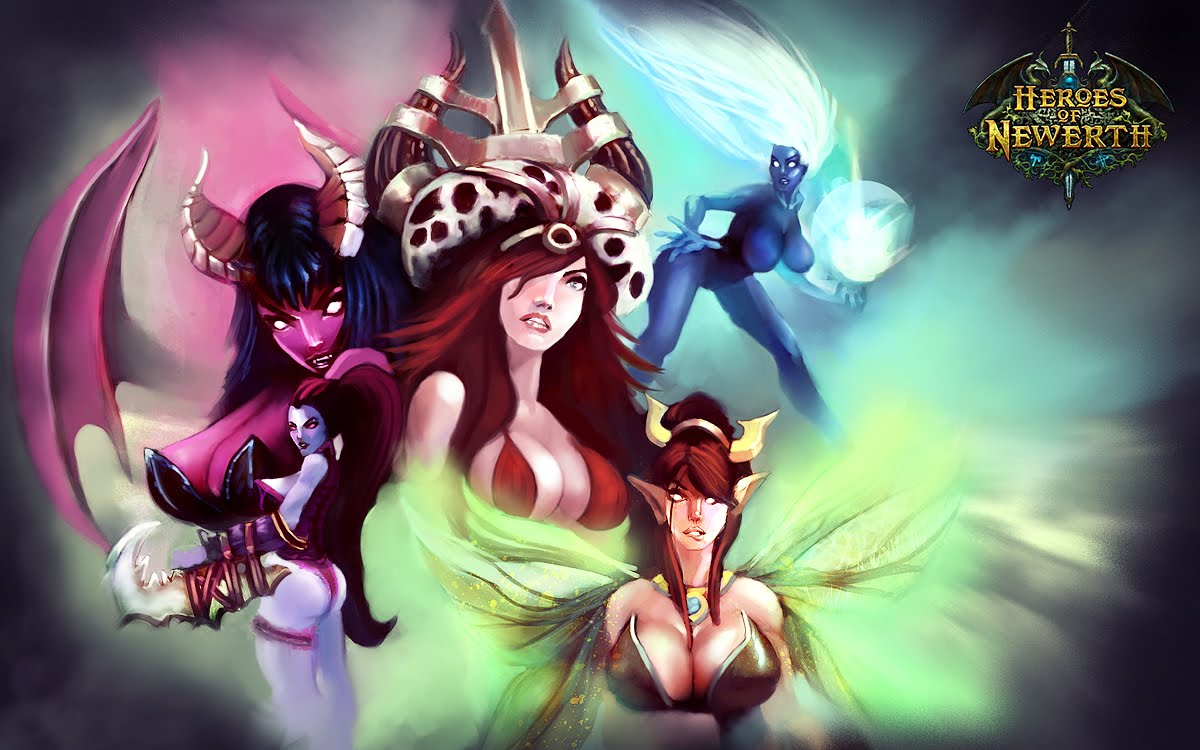 Heroes of newerth порно